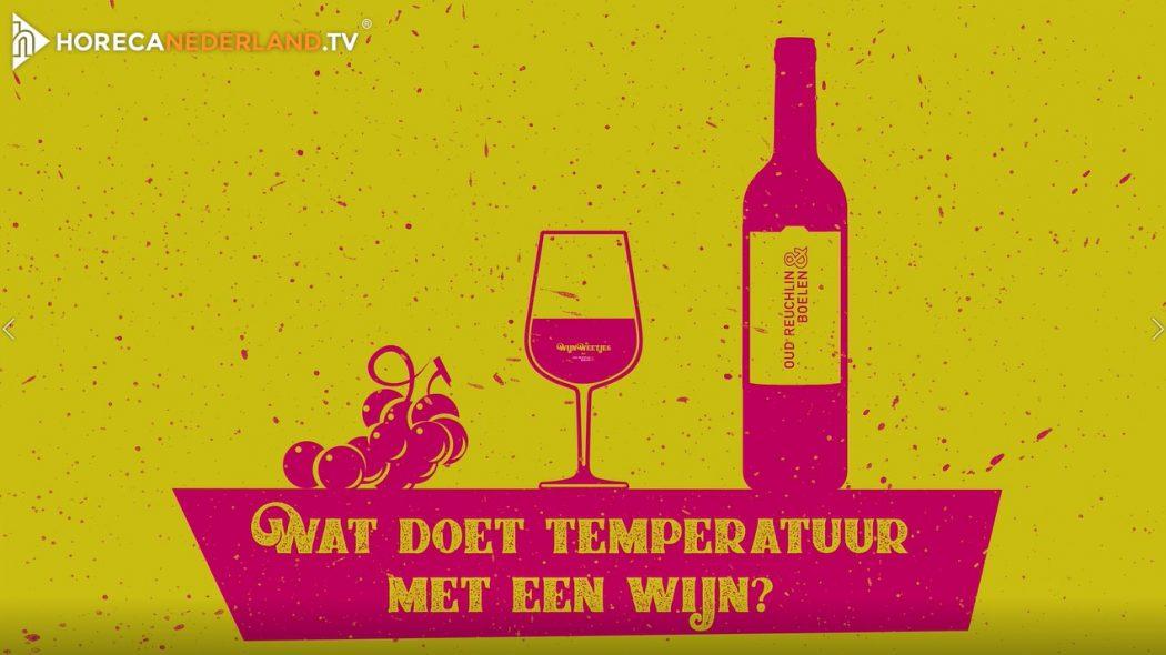 Wat doet temperatuur met wijn?