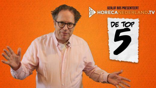 Iedereen is dol op lijstjes! In het nieuwe programma De Top 5 bespreekt presentator Maarten Wessels een horeca gerelateerde top 5. Van ergernissen tot tips.