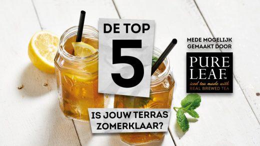 In deze aflevering van De Top 5 geeft presentator Maarten Wessels 5 belangrijke tips die van belang zijn om jouw terras zomerklaar te maken! Handig toch?