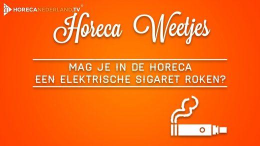 Sinds een aantal jaar geldt in de horeca een algeheel rookverbod. Geldt dit verbod ook voor elektrische sigaretten? Of mag de e-sigaret wel in de horeca? HorecaWeetjes geeft antwoord!