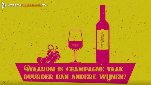 Waarom is champagne vaak duurder dan andere wijnen? Champagne heeft het imago van een luxe wijn, maar waarom is champagne vaak duurder dan andere wijnen?