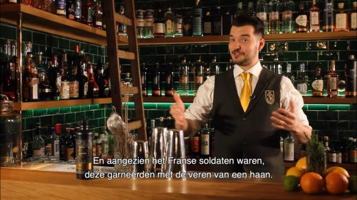 """Waar komt de naam """"cocktail"""" vandaan? HorecaNederland.TV duikt in de geschiedenis van de cocktail. Waar komt de nam """"cocktail"""" nou eigenlijk vandaan?"""
